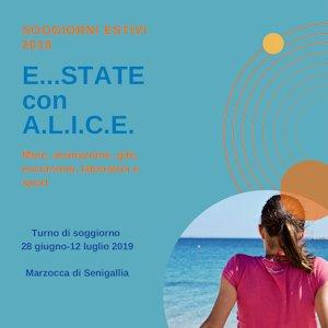 Soggiorni estivi 2019 di Cooperativa ALICE a Marzocca di Senigallia - Marche