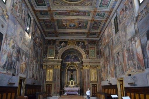 Rione Trevi a Roma